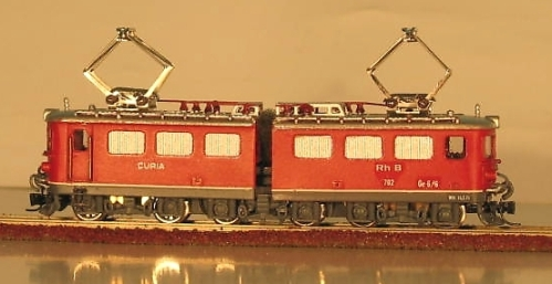 Scala Nm - Rhätische Bahn Ge 6/6 II di WestModel