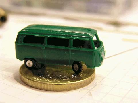 Il furgoncino VW di Andreas Rackel