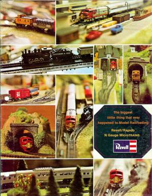 Copertina del catalogo Revell del 1967