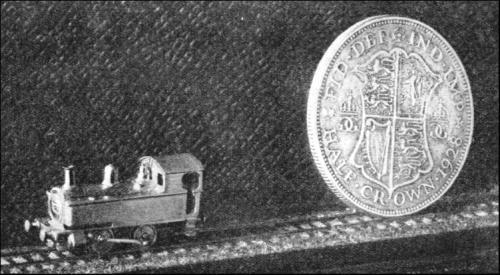 Locomotiva in scala 1:300 di A.R. Walkley