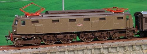 La terza serie (semiaerodinamica) di Euromodell