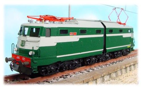 E645.021 prima serie di Euromodell-fp - uguale alla E.646.001