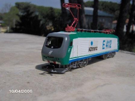 E412 Brennero di Ferrovia del Caimano