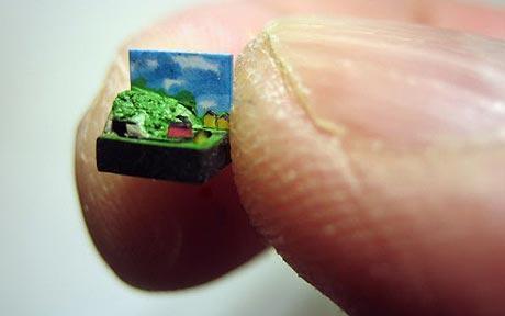 Il microplastico in scala 1:32500 di David J. Smith