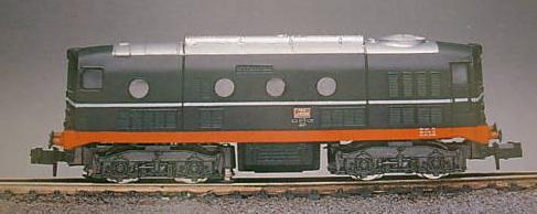 D341.1041 della FSAS (produzione Rivarossi 1991-92)