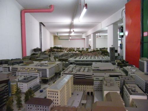 La città - immagine da http://www.modellbahn-dortmund.de/