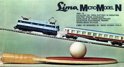Catalogo Lima Micromodel 1969