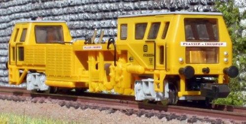 RIncalzatrice (Gleisstopfmaschine) Plasser & Theurer di Hobbytrain-Lemke