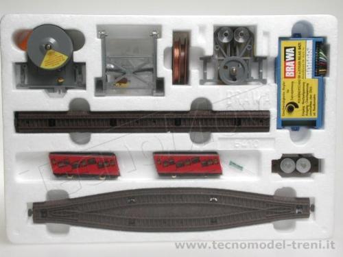 Funicolare Brawa 6410 nella sua confezione - dal catalogo Tecnomodel