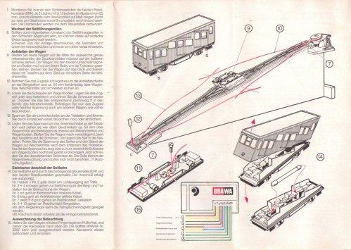 Foglietto di istruzioni della Brawa 6410 - parte 2