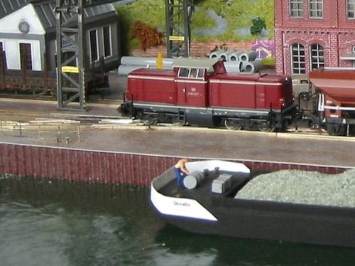 Un particolare di un diorama di www.schiff-modelle.de