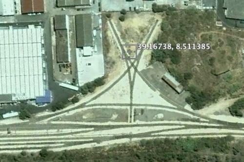 Stella di Carbonia vista dal satellite