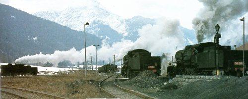 Traffico sulla stella di San Candido. Foto da un post di Roberto Alinovi su trenoincasa.forumfree.it