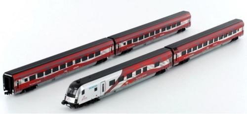 Il Railjet in livrea celebrativa per i 125 anni di ÖBB - art. 25212