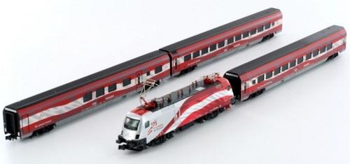 Il Railjet in livrea celebrativa per i 125 anni di ÖBB - art. 25213