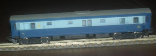 Bagagliaio Treno Azzurro, versione inesatta - colllezione Angioy