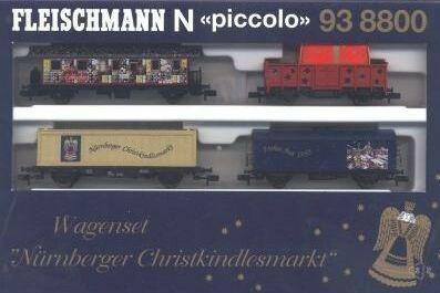 Fleischmann 93-8800, confezione dedicata al mercatino di Natale di Norimberga