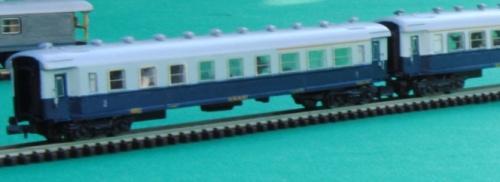 TIpo 1959 in livrea Treno Azzurro, collezione Angioy