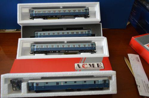 Treno Azzurro ACME, in H0