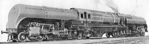 Un Garratt in Algeria: la 231-132 BT. Da SNCF Society Journal Number 124, Dec 2006.]