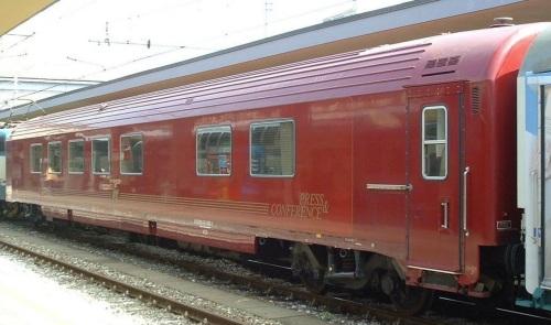 L'altro lato della Press & Conference a Torino nel 2006, Foto © Massimo Rinaldi da www.railfaneurope.net