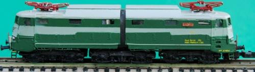 Un modello di vecchia produzione (E646 Prima serie, dalla Collezione Angioy)