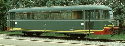 Macchifer R.222 a Maglie nel 1983 - foto di Roberto Cocchi da photorail.com