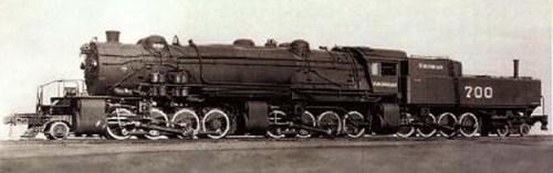 La Triplex di Virginia RR, una delle tre sole  2-8-8-8-4 mai costruite