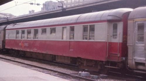 La 3676 trasformata in Grill Express (foto del 1977)