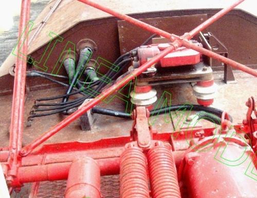 Blocco interruttore del Separatore D'Arbela su una E.326 - foto © Lineamodel.it