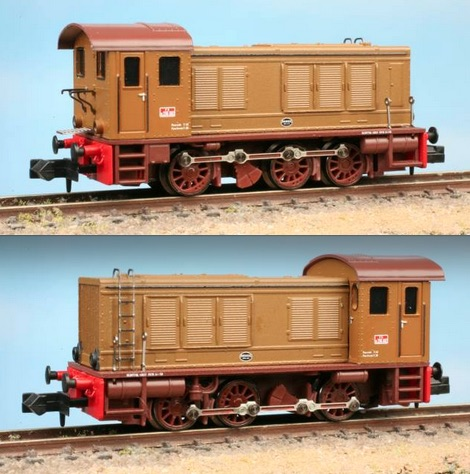 Due immagini della D236 Pirata