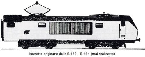 Il bozzetto originario prevedeva la porta di accesso presso la cabina di guida. Nella versione realizzata fu spostata a centro macchina, irrobustendo strutturalmente il frontale.