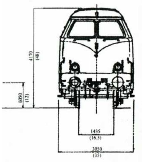 Frontale della D.461