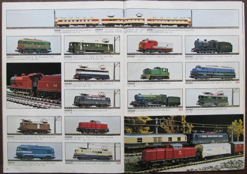 La pagina del catalogo 1980 con la fantomatica 312