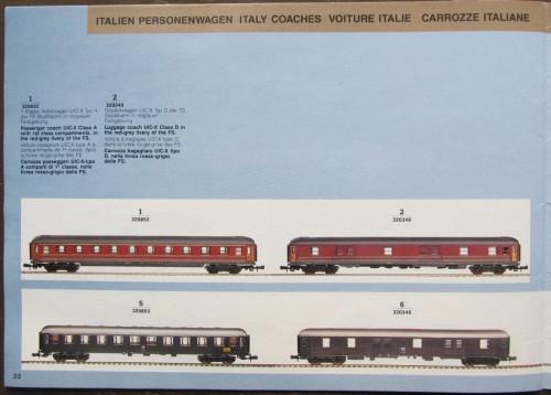 1991: le carrozze UIC-X in  grigio ardesia
