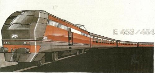 Brochure Breda di presentazione delle E.453/454