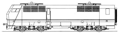 Schema dell'altro lato delle E.454