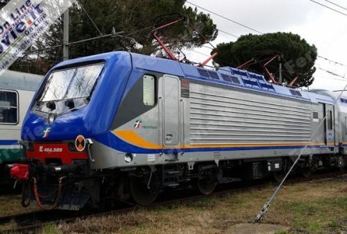 E.464 nella nuova livrea DTR 2014 - Foto da FOL News
