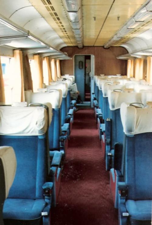 Interni della ALn.448 - Foto © Corrado Sala da www.ferrovie.it/forum