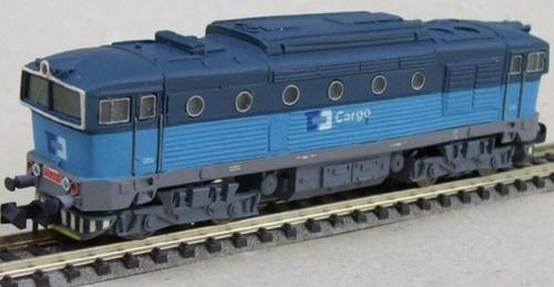 T478.3 ČDcargo di TH Model. Si notino le varianti sull'imperiale.