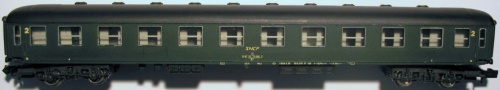 Rivarossi 2684, la (falsa) UIC-X francese.