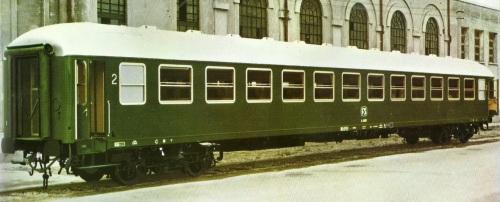 Bx UIC-X Tipo 66-68 lato ritirata - Foto del produttore (SNIA Colleferro)