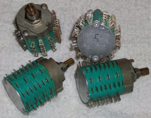 Electroswitch a due posizioni e 24 linee (72 poli) recuperati da un vecchio computer IBM ed in vendita su ebay