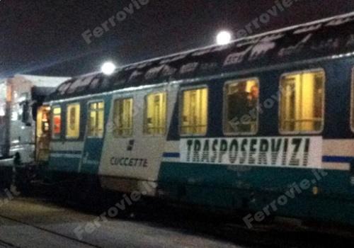 Cuccetta Trasposervizi (foto da Ferrovie.it)