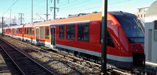 LINT 84 Br 620.002 in un viaggio di prova nel Dicembre 2012 - Foto da drehscheibe-foren.de