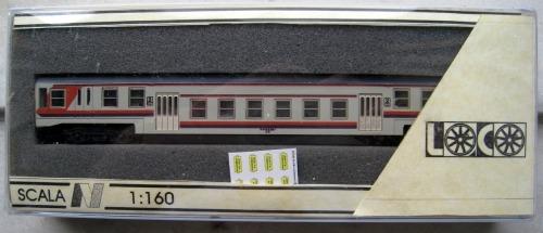 Semipilota nella sua confezione, con tabelle di percorrenza