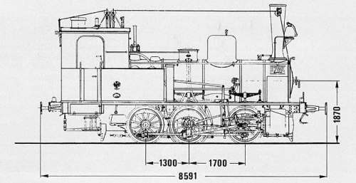 M III 4e di secondo tipo, dalla terza edizione del Musterblatt, 1901