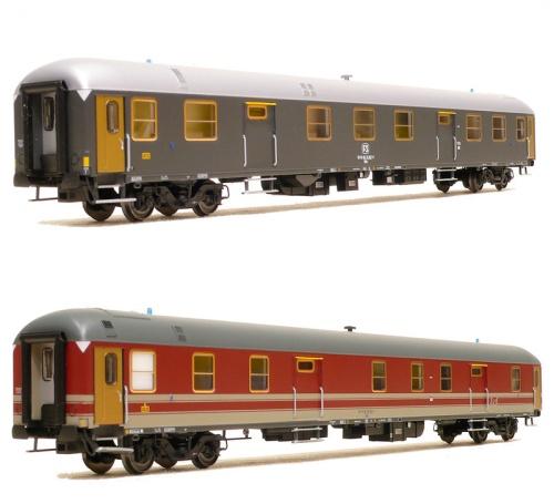 le due fiancate del UMI Tipo 1976 nell'interpretazione modellistica di ACME, in H0.