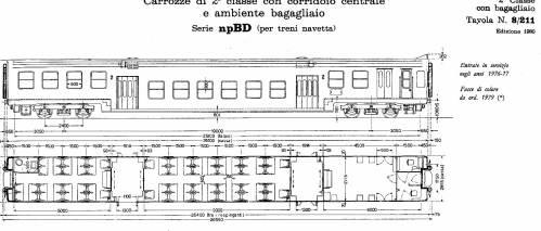 npBD semipilota passante, Tipo 1973