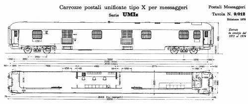Postale  unificato UMIz Tipo 1970